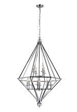 CWI Lighting 1027P32-12-601 - 12 Light Chandelier with Chrome Finish