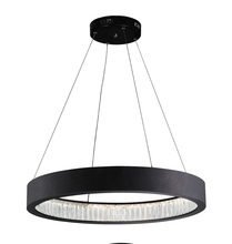 CWI Lighting 1040P26-101 - LED Chandelier with Matte Black Finish