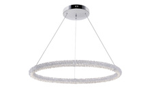 CWI Lighting 1042P32-601-R - LED Chandelier with Chrome Finish