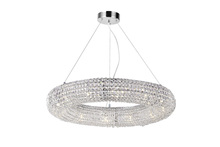 CWI Lighting 1057P32-12-601 - 12 Light Chandelier with Chrome Finish