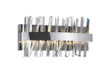 CWI Lighting 1086W18-601 - LED Wall Sconce with Chrome Finish
