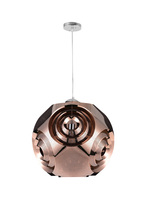 CWI Lighting 1098P10-1-267 - 1 Light Pendant with Copper Finish