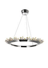 CWI Lighting 1108P32-613 - LED Up Chandelier with Polished Nickel Finish