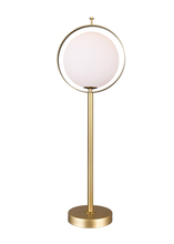 CWI Lighting 1153T10-1-169-A - 1 Light Table Lamp with Brass Finish