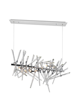 CWI Lighting 1154P37-9-601 - 9 Light Chandelier with Chrome Finish