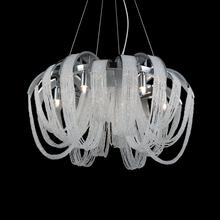 CWI Lighting 5615P18C - 4 Light Down Chandelier with Chrome finish