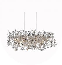 CWI Lighting 5630P37C-O - 7 Light Down Chandelier with Chrome finish