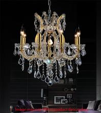 CWI Lighting 8311P24C-9 (Smoke) - 9 Light Up Chandelier with Chrome finish