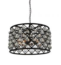 CWI Lighting 9862P20-5-101 - 5 Light Chandelier with Black finish