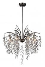CWI Lighting 9885P25-8-183 - 8 Light Down Chandelier with Silver Mist finish