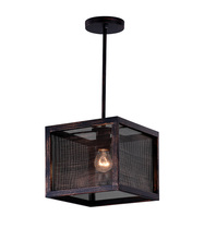 CWI Lighting 9976P10-1-107 - 1 Light Pendant with Antique Copper Finish