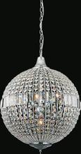 CWI Lighting QS8370P22C - 6 Light Chandelier with Chrome finish