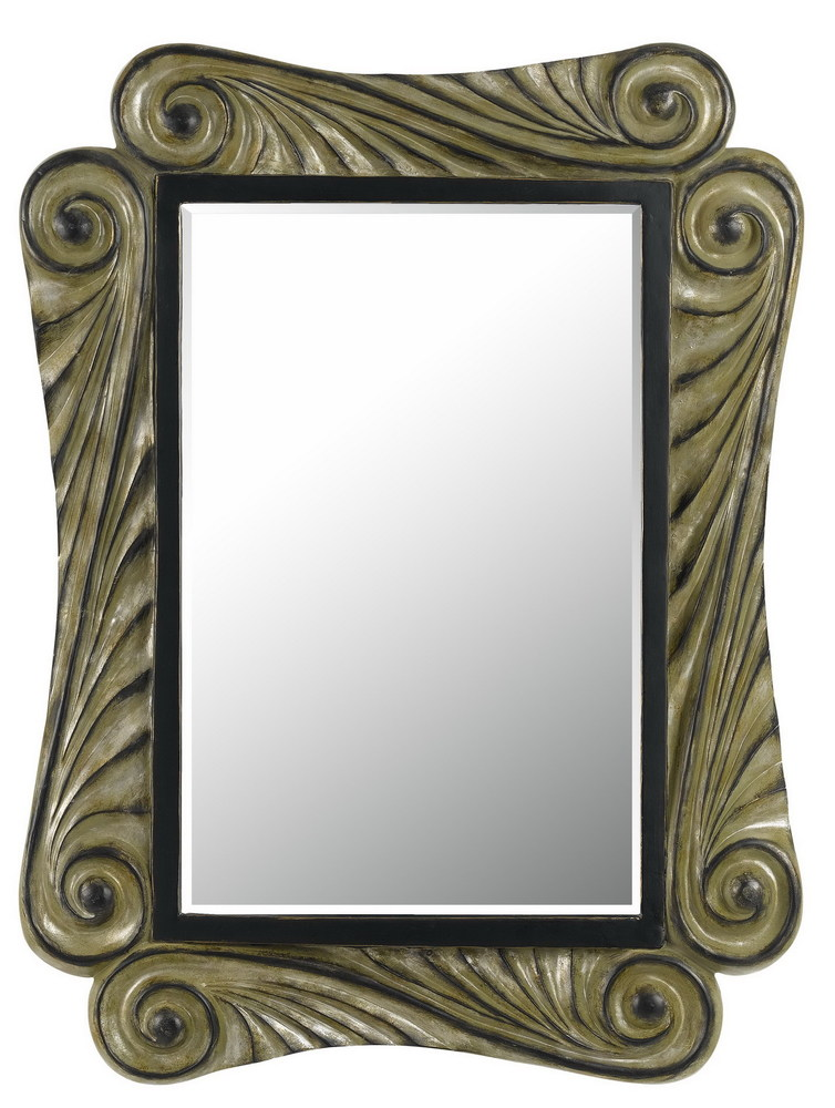 "30"" Tall Polyurethane Mirror In Agent Finish"