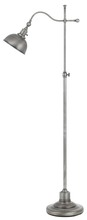 CAL Lighting BO-2588FL-AS - 60W Portico Metal Adjust Able Floor Lamp With Metal Shade