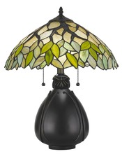 CAL Lighting BO-2798TB - 60W X 2 Tiffany Table Lamp