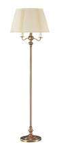 CAL Lighting BO-315-AB - 150W 6 Way Floor Lamp