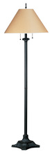 CAL Lighting BO-433-RU - 60W X 2 Pull Chain Floor Lamp