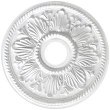 "Canarm FM-19A - Tuscan, FM-19A, 18"" Ceiling Medallion, 3 5/8"" center hole."