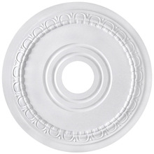 "Canarm FM-40 - Egg & Dart, FM-40, 17"" Ceiling Medallion, 3 1/2"" center hole."