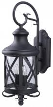 Canarm IOL118 BK - Outdoor Wall Light