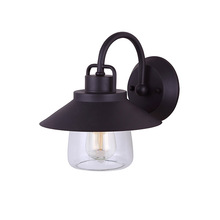 "Canarm IOL252ORB - COLORADO, IOL252ORB, 1 Lt Outdoor Down Light, Clear Glass, 100W Type A, 9""W x 10 1/2""H x 10"