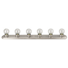 Canarm IVLBS1651 - Vanity, IVLBS16 BPT, 6 Light Bathroom Strip, 60W Type G