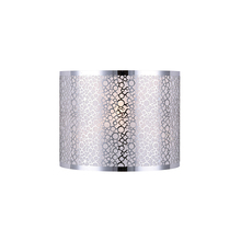 Canarm IWL527A01CH - Montreal, IWL527A01CH, 1 Lt Wall Sconce, Stainless steel shade + sparkly paper, 60W Type C, 11""