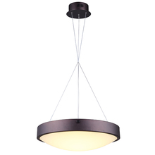 "Canarm LCH116A20ORB - Hyde, LCH116A20ORB, 19 1/2"" Wide Cable LED Chandelier, Flat Opal Glass, 34W LED (Integrated), Di"