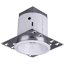 "Canarm RN5NCSBWH - Recessed, RN5NCSB WH, 5"" Non-Insulated with Step Baffle Trim, New Construction, Medium Base, 65W"