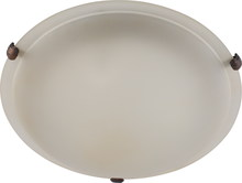 Whitfield ESFM55-16ASCF - LED 3 Light Flush Mount