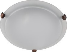 Whitfield ESFM55-16AWCF - LED 3 Light Flush Mount