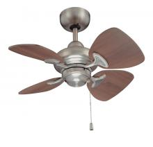 Kendal AC16324-SN - Aires 24 in. Satin Nickel Ceiling Fan