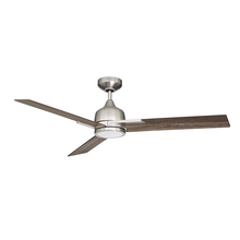 Kendal AC22452-SN - TRITON 52 in. LED Satin Nickel Ceiling Fan