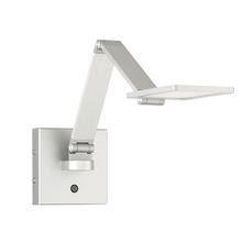 Kendal SA100-AL - LED Swing Arm in an Aluminum finish