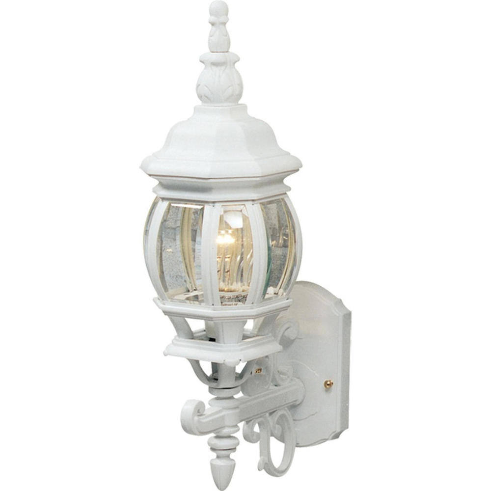 Classico 1 Light AC8090WH White Outdoor Light