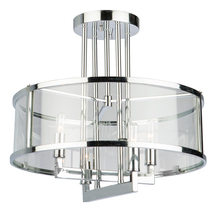 Artcraft AC10983 - Brinkley AC10983 Semi Flush