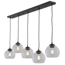 DVI DVP13202MO-CL - Linear Pendant with Five Globes