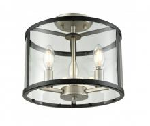 DVI DVP25411BN/GR-CL - Semi Flush