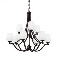 Feiss F2961/6+3HTBZ - 9 - Light Chandelier