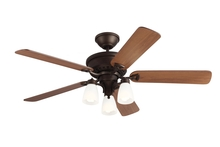 "Monte Carlo 5BO52EBD - 52"" Bravo Indoor Ceiling Fan in English Bronze"